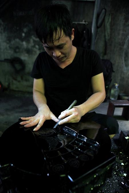 nghề truyền thống độc đáo của vùng mỏ Quảng Ninh.