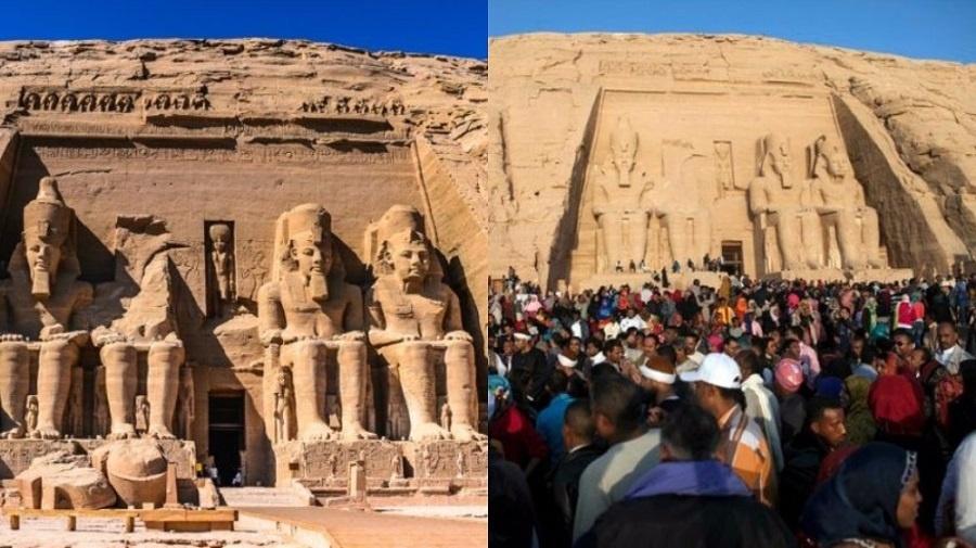 Đền thờ cổ Abu Simbel, Giza, Ai Cập
