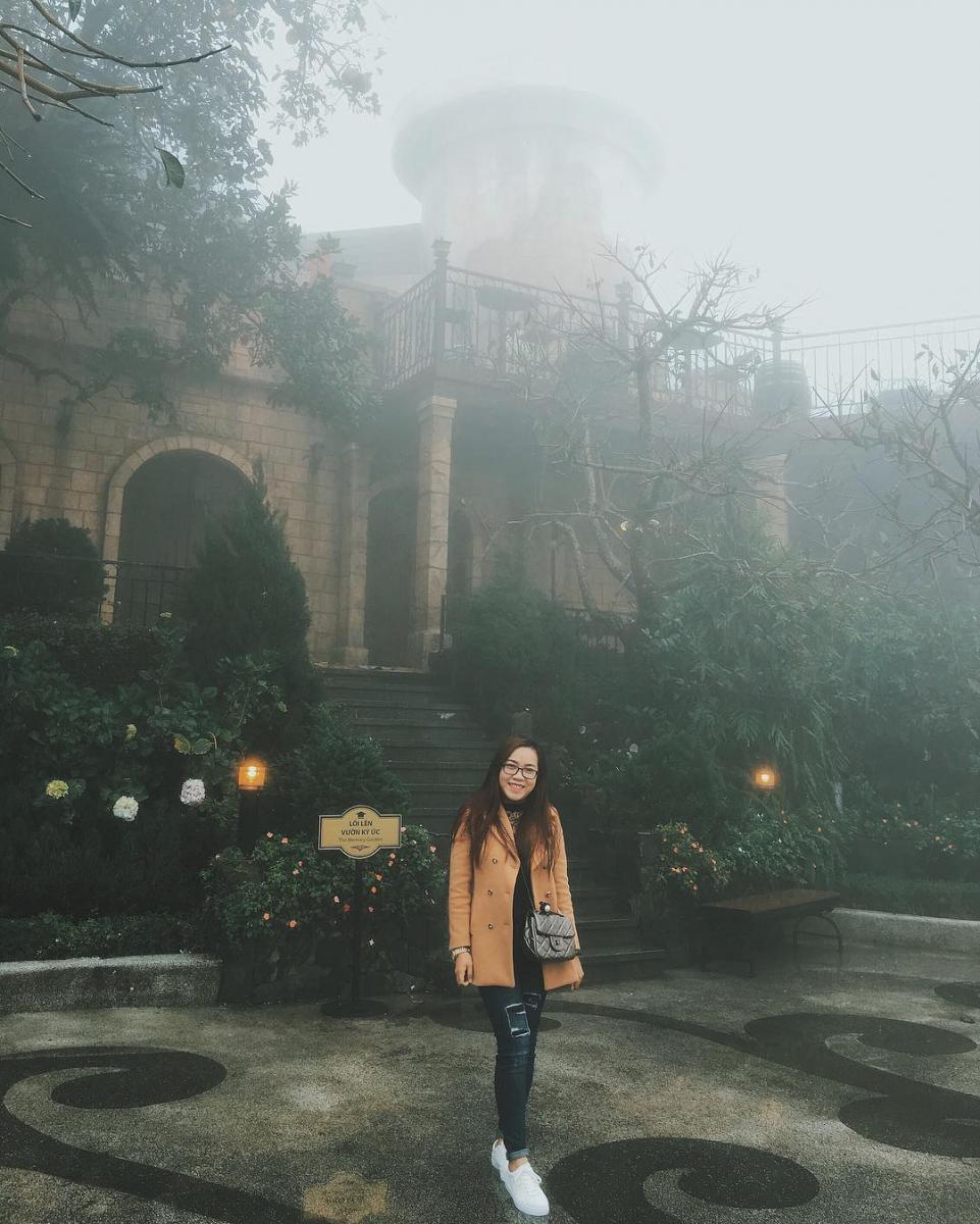 Chút sương mờ ngày đông - Ảnh: @trinhrejn