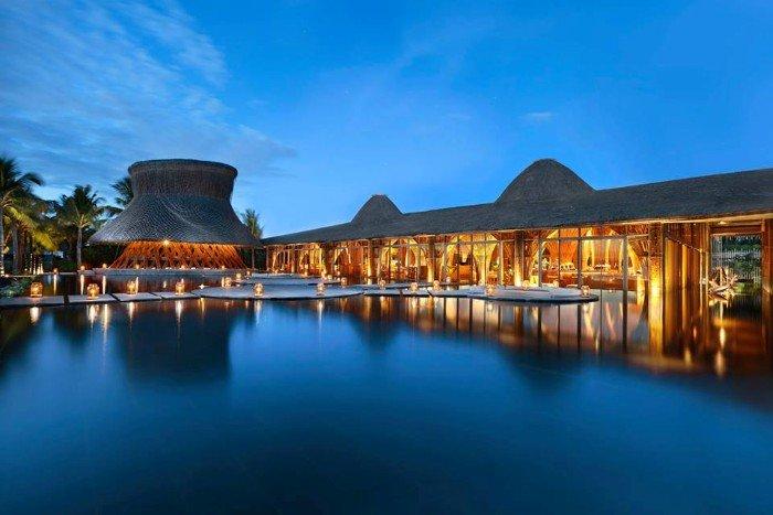 Kiến trúc độc đáo của Naman Retreat. -Ảnh: Naman Retreat
