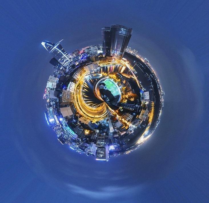 Một Sài Gòn đẹp lạ qua ống kính 360 độ