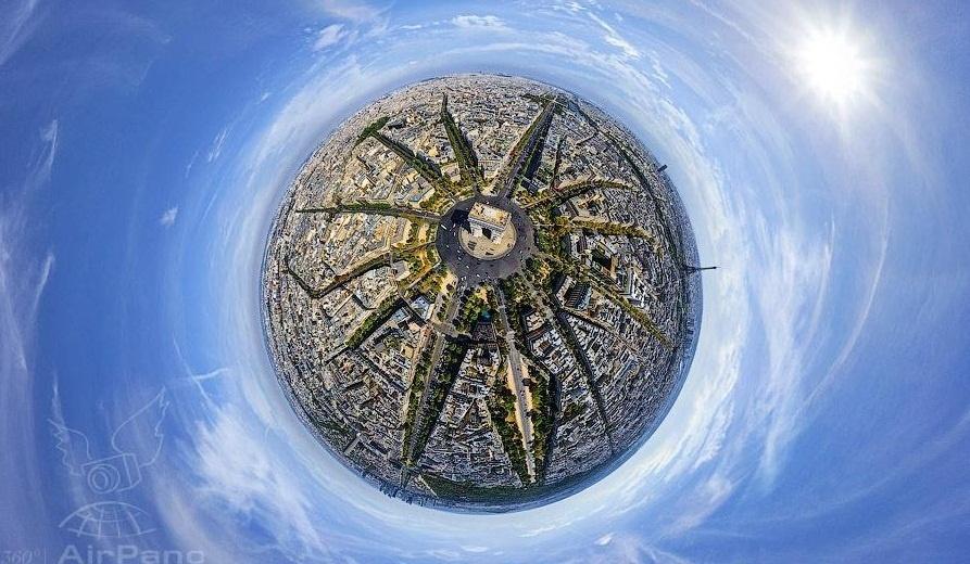 Công nghệ 360 độ làm cho Paris
