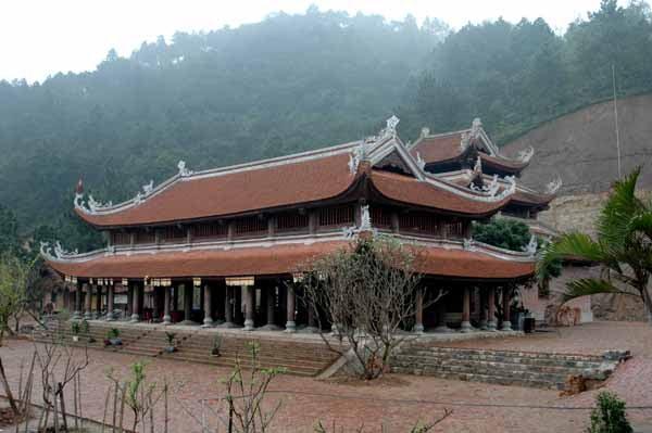 Toàn cảnh chùa Non Nước Hà Nội