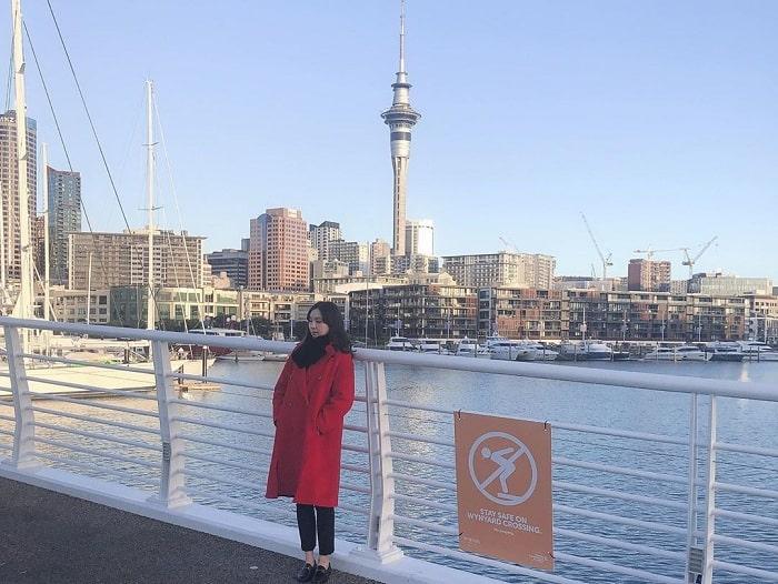 Vẻ đẹp cuốn hút của tòa tháp Sky Tower New Zealand