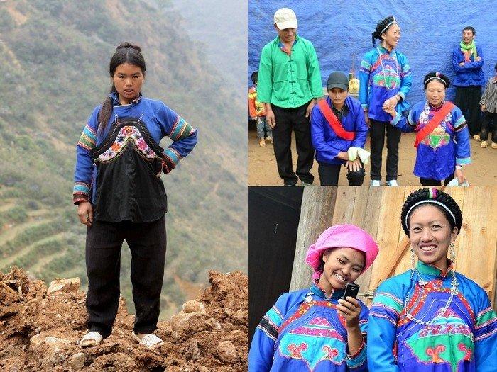 Trang phục nam nữ dân tộc Phù Lá Tây Bắc