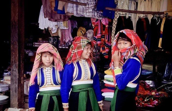 Quyến rũ bộ trang phục dân tộc Xinh Mun ở Tây Bắc