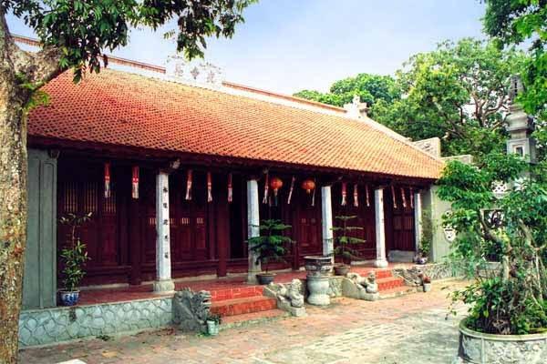 Mặt tiền chùa Quang Ân Hà Nội
