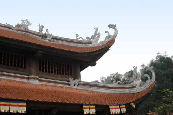 Chùa Non Nước Hà Nội thuộc quần thể khu di tích đền Sóc