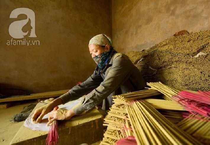 Làng nghề hương thơm Kiền Bái