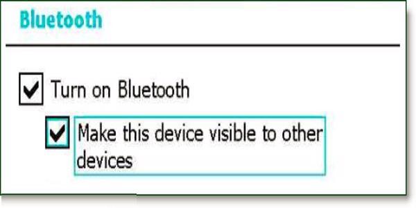 Chọn Turn on Bluetooth