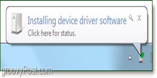 Chờ driver bluetooth nhận