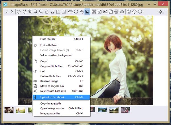 Phần mềm xem ảnh ImageGlass
