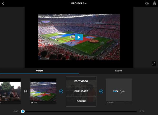 Phần mềm làm video Splice