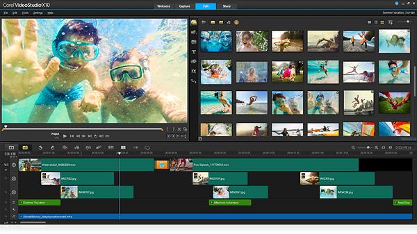 Phần mềm video Corel VideoStudio