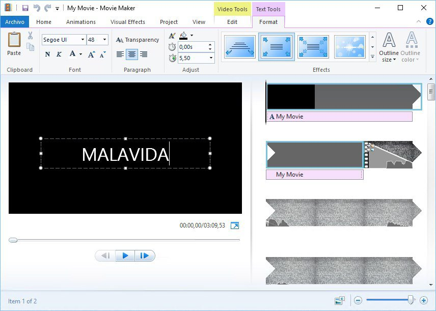 Window Movie Maker là ứng dụng gì