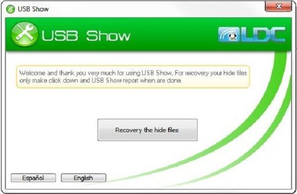 Phần mềm USB show