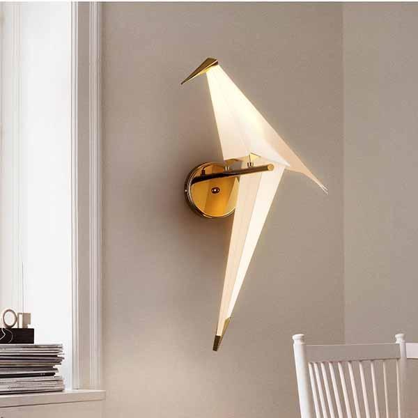 Đèn ngủ treo tường cho bé mini hình chim- Đèn tường
