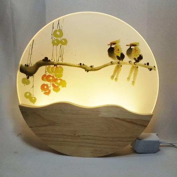 Đèn ngủ treo tường mini tranh cho bé- Đèn treo tường