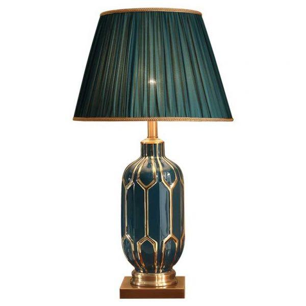 Đèn ngủ để bàn mini gốm sứ HTB-33- Đèn để bàn