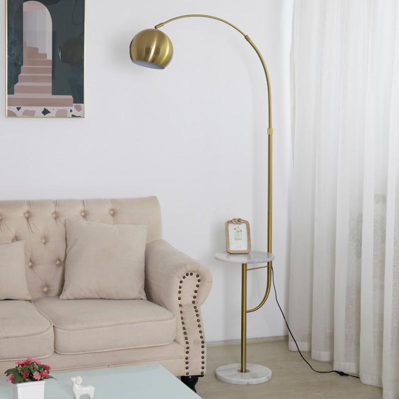 Đèn cây trang trí góc sofa đẹp – Đèn cây đứng trang trí góc sofa hiện đại HTC-15
