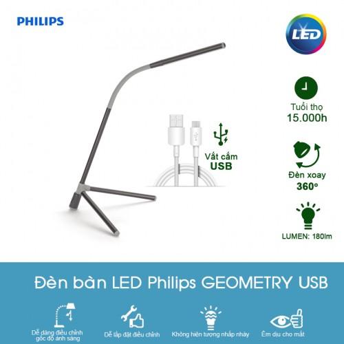 Đèn bàn LED Philips - đèn led đề bàn philips chính hãng