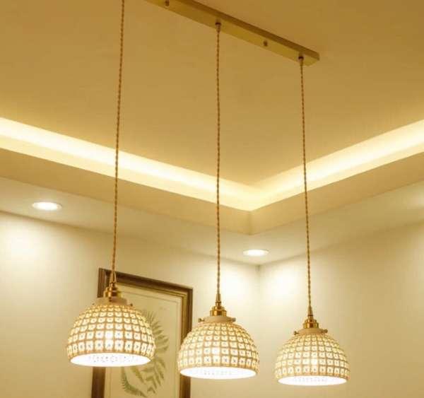 Đèn trang trí nhà hàng bán nguyệt - Đèn LED trang trí cho nhà hàng hình bán nguyệt