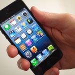 cảm ứng iPhone 5 bị đơ