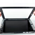 màn hình iPad Air bị bụi