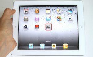 màn hình ipad bị phóng to