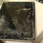 màn hình ipad bị vỡ