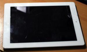 màn hình ipad không lên