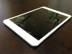 màn hình ipad mini bị nứt
