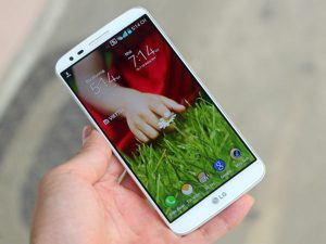 cảm ứng LG G2 không nhạy