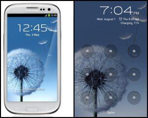 fix lỗi khóa màn hình Galaxy S3