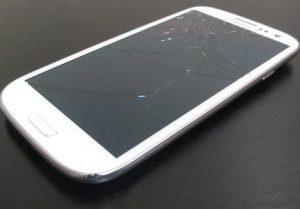 màn hình Galaxy S3 bị vỡ