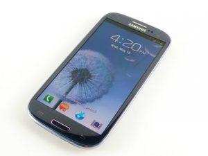 màn hình Galaxy S3 tự sáng