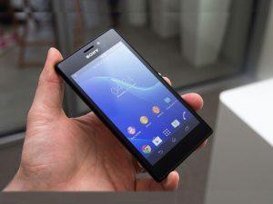 Sony M2 lỗi cảm ứng
