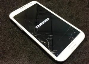 vỡ kính Galaxy S4