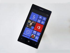 Lumia 520 bị đơ cảm ứng