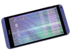 màn hình HTC bị sọc