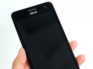 màn hình Zenfone 5 bị tối