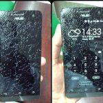 màn hình Zenfone 5 bị xước