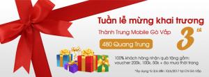 Mừng khai trương chi nhánh 03, 480 Quang Trung, quận Gò Vấp
