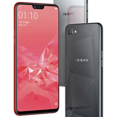 On behalf of the glass Oppo A3, A3S