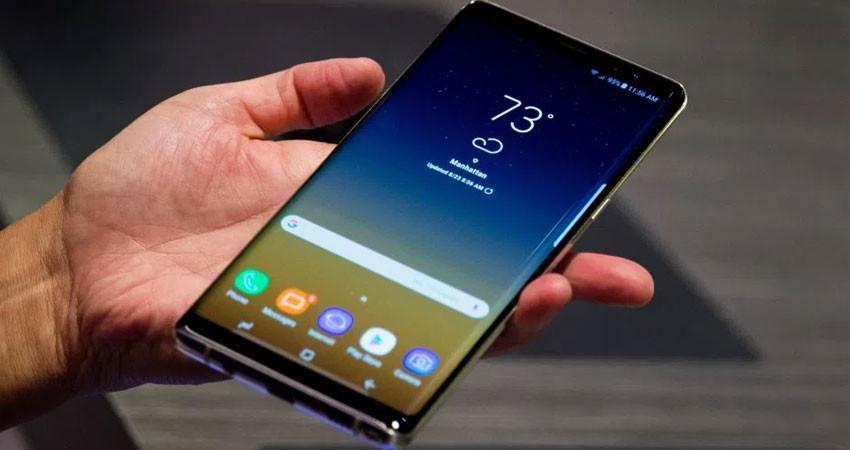 thay mặt kính cảm ứng Samsung Galaxy Note 9