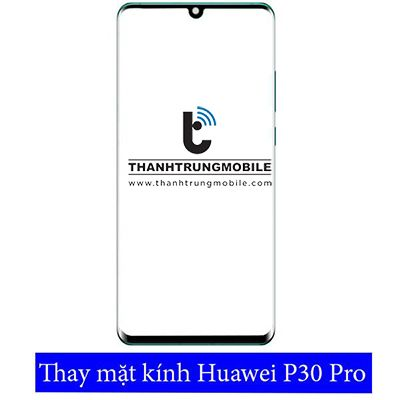 On behalf of glass Huawei P30