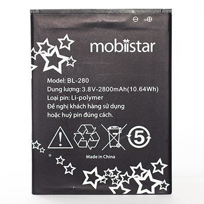 Replace the battery Mobiistar Lai Zumbo's