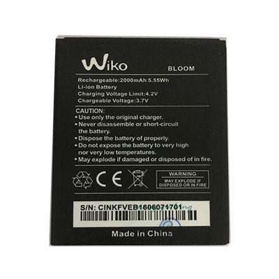 Replace the battery Wiko Bloom