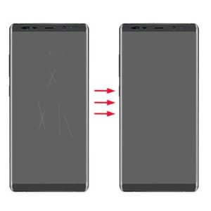 Remove scratches glass, glass back Samsung Galaxy Note 8