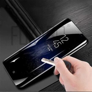Polishing the front glass, glass back Samsung Galaxy Note 9